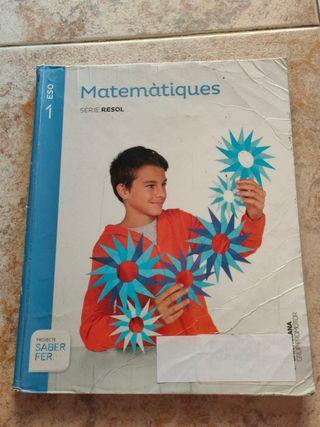 Libro de Matemáticas de 1ºESO