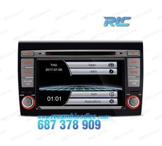 "RADIO NAVEGADOR 7"" FIAT BRAVO USB GPS TACTIL HD"