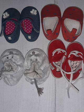 lote zapatos bebe