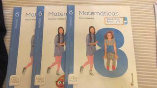 libro de matemáticas 6°primaria
