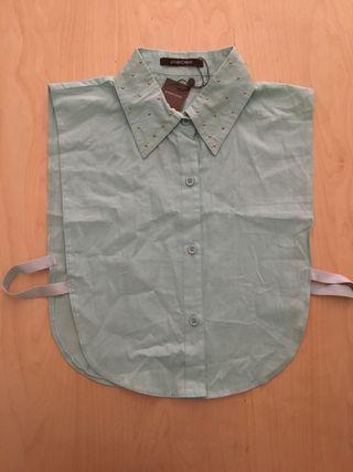 Camisa interior color menta