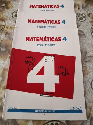 Libro matemáticas 4 primaria