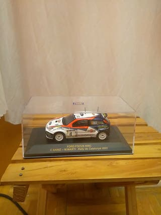 Maqueta coche Ford Focus Rally de Catalunya 2002