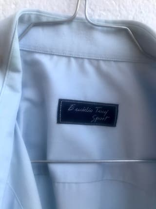 Camisa Emidio Tucci azul