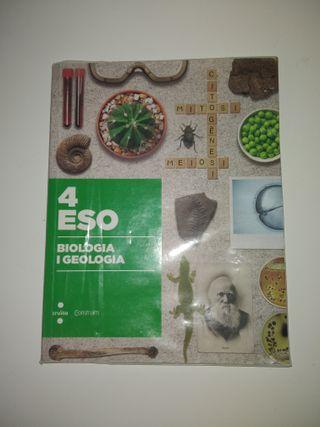 LLIBRE BIOLOGIA I GEOLOGIA 4t ESO