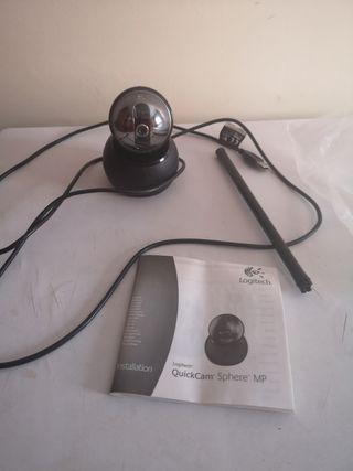 Webcam con micro, marca Logitech