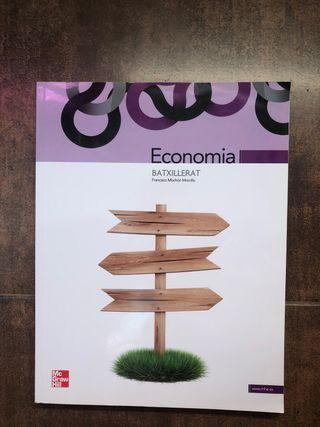 Llibre Economia 1r Batxillerat