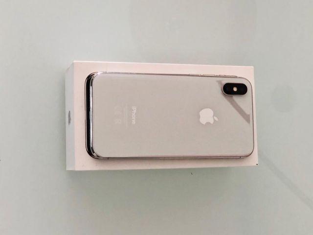 IPhone X plateado | 64 Gb