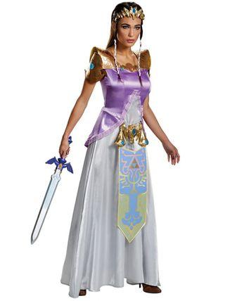 Disfraz Zelda mujer