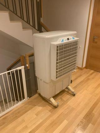 Climatizador evaporativo con Ozono