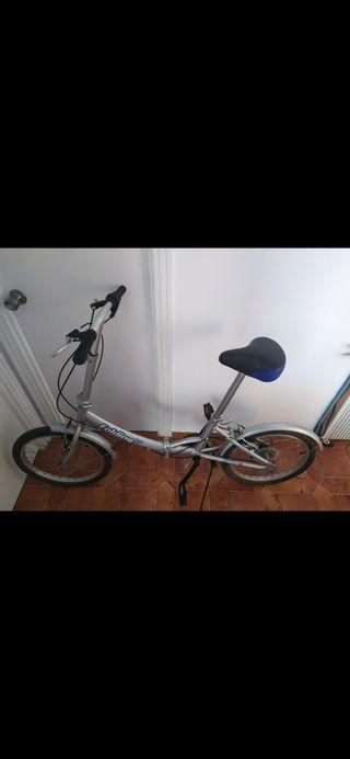 Bicicleta plegable de aluminio para adulto. Nueva