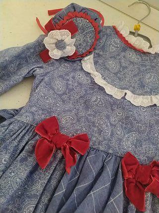 vestido dolce petit niña 6 años