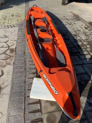 Kayak Canoa Rígido Bic Borneo
