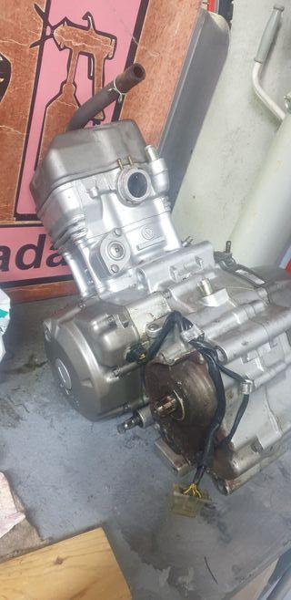 motor gripado Honda cbr 125 2004 completo