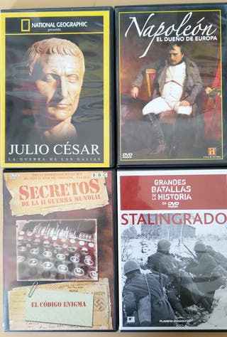 DVDs Documentales Historia. Lote