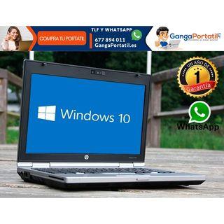Portátil HP EliteBook 2560p, i5/8Gb Ram/Cam/Win10