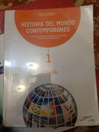 Se vende libro de historia de 1° Bach