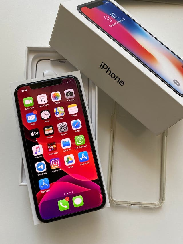 Iphone X Gris Espacial 64GB