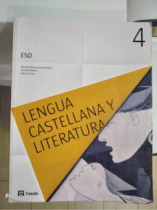 libro texto LENGUA CASTELLANA 4°ESO