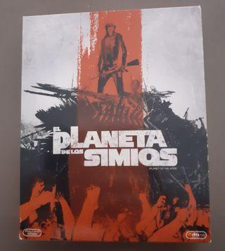 Saga Planeta simios Blu-Ray 8 películas