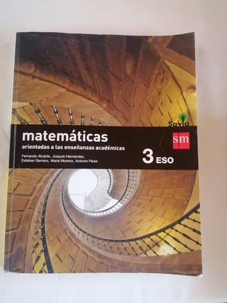 Libro 3 ESO. Matemáticas