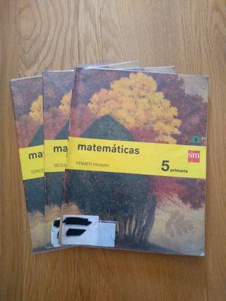 Libro de matemáticas - 5 Primaria