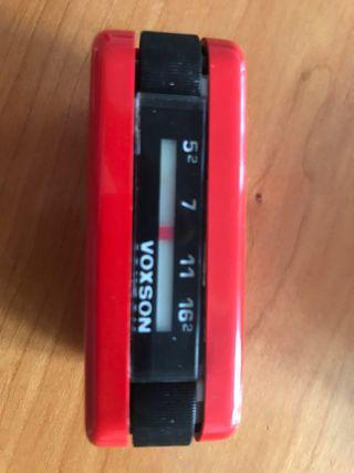 Radio Voxson Tanga extraible 1970