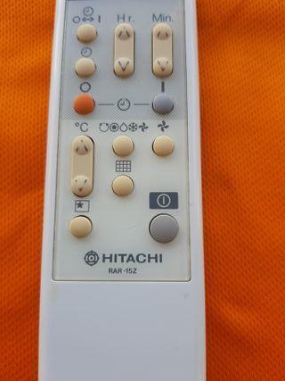 Mando aire acondicionado Hitachi RAR15Z