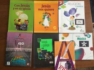 Oros libros de texto varios.