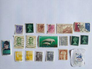 Colección sellos extranjeros