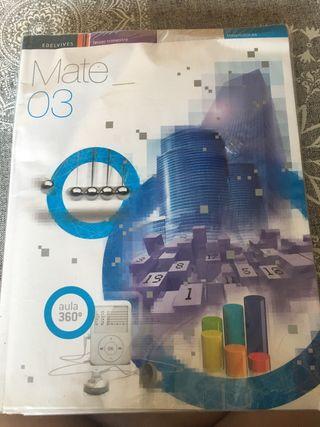 Libros matemáticas 3 eso