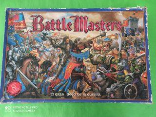 Juego de mesa Battle Masters de MB. Completo.