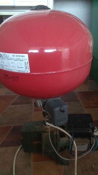 Bomba agua presion