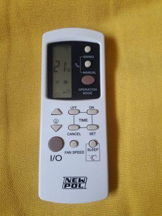 Mando aire acondicionado New Pol GZ1002
