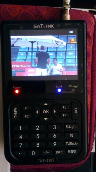 Medidor de Campo TDT SATLINK WS6905