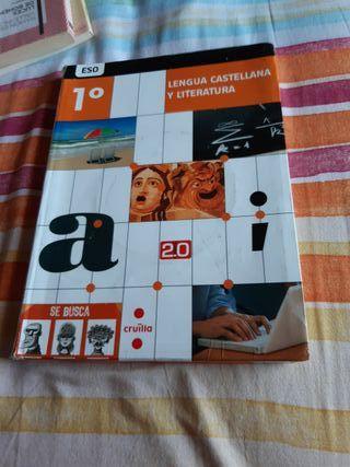 Libro Lengua Castellana y Literatura 1° de la ESO