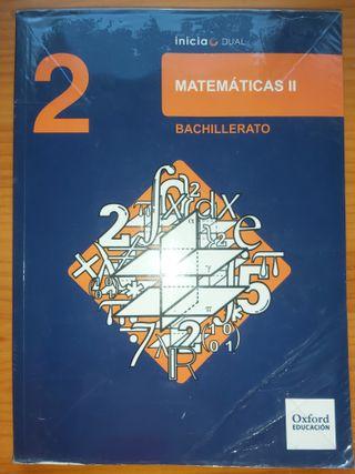 LIBRO DE MATEMATICAS 2-BACHILLERATO (Oxford)