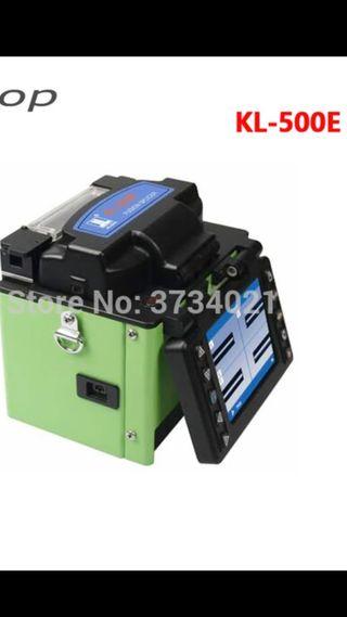 máquina de empalme de fibra óptica KL-500E empalma