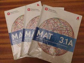 libro 3 eso matemáticas