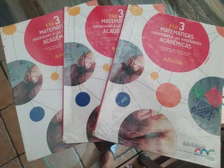 Matemáticas 3 ESO