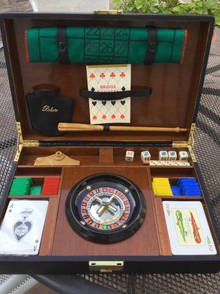 Maletín juegos casino