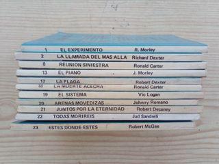 Lote 11 Novelas Coleccion Horror