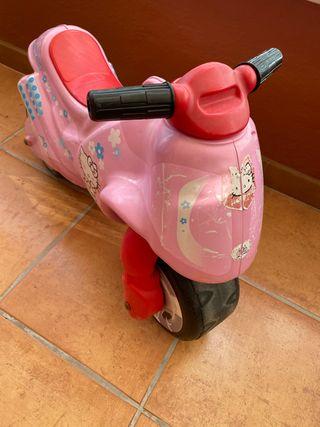 Moto rosa hello kitty