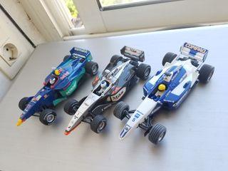 3 coches F1 Carrera para Scalextric