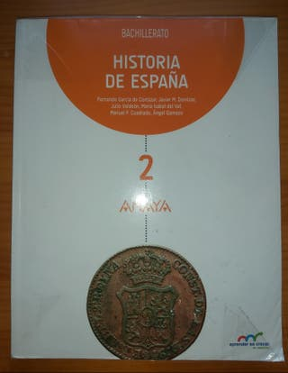 LIBRO DE HISTORIA 2-BACHILLERATO (Anaya)