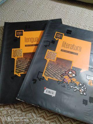 libro lengua y literatura 1eso edelvives