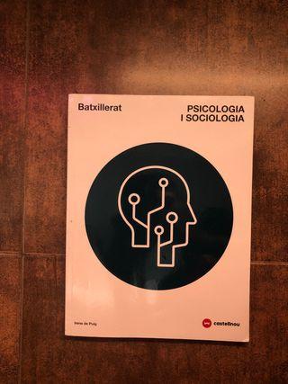 Llibre Psicologia i Sociologia 1r Batxillerat