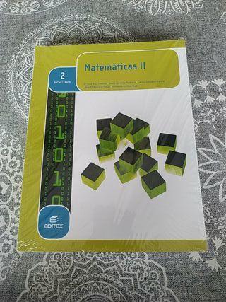 libro de matemáticas 2 de bachillerato