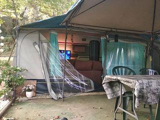Caravana en Camping L'Illa