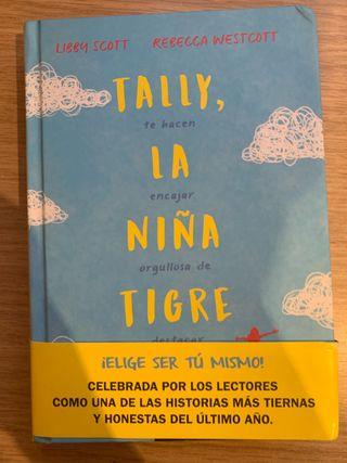 Tally, la niña tigre libro nuevo